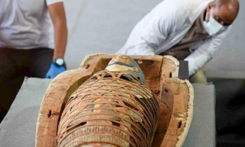 Encontraron en Saqqara más de 100 sarcófagos que datan de hace 2.500 años