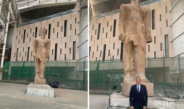 Ramsés II vuelve a la vida con un monumento colosal 2