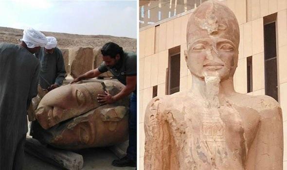 Ramsés II vuelve a la vida con un monumento colosal 3