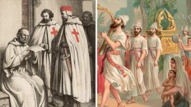 Caballeros Templarios: pista del Arca de la Alianza descubierta dentro del misterioso 'lugar de poder' |  Raro |  Noticias
